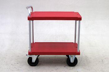 Tischwagen LxB 970 x 620 mm 2 Etagen, Tragkraft 500 kg