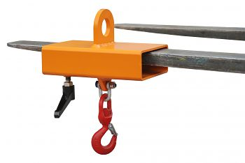 Lasthaken, Typ LH-I, lackiert orange RAL 2000