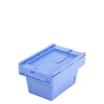 Mehrwegbehälter mit Klappdeckel LxB 310 x 200 mm, Inh. 5 Ltr.