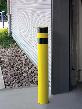 Rammschutz-Poller INDOOR zum Einbetonieren HxØ: 1600 x 76 mm