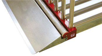 Rampe 560 mm verz. für Tafelregal  L 310 x B 570 x H 90 mm