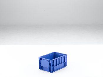Kleinladungsträger RAL 5005 blau 243x162x129,5 mm/RL-KLT 3147