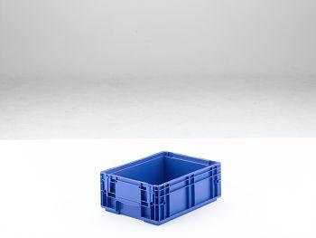Kleinladungsträger RAL 5005 blau 345x260x129,5 mm/RL-KLT 4147