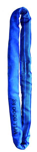 Polyesterrundschlingen WSL 10 violett, 4m lang,1000kg Tragkr