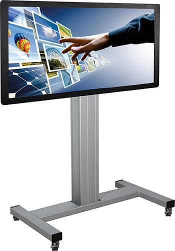Fahrbares alu TV-System