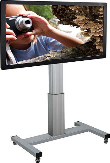 Fahrbares alu TV-System höhenverstellbar