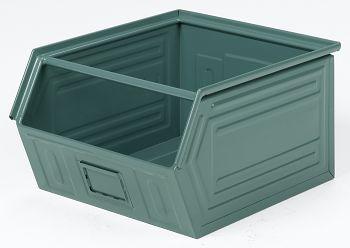 Sichtlagerkästen aus Stahlblech lackiert,L 520/450 x B 450 x H 300 mm