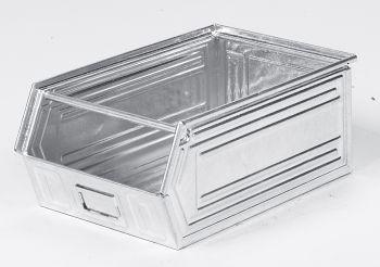 Sichtlagerkästen aus Stahlblech verzinkt,L 500/450 x B 300 x H 200 mm