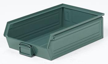 Sichtlagerkästen aus Stahlblech lackiert,L 500/450 x B 300 x H 145 mm