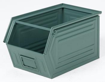 Sichtlagerkästen aus Stahlblech lackiert,L 520/450 x B 300 x H 300 mm