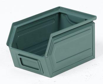 Sichtlagerkästen aus Stahlblech Lackiert,L 230/200 x B140 x H 130 mm