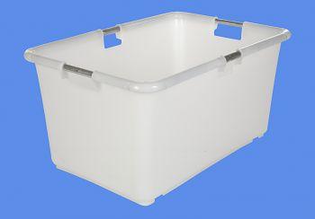 Transportbehälter natur L 83/69xB 57/44xH 40 cm