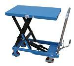 Hubtischwagen Tragl. 300 kg Tischmaß 855 x 500 mm