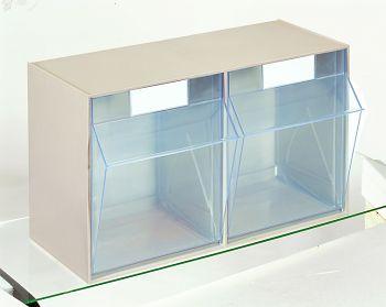 System-Elemente mit Gehäuse 600x299x353mm,2 Behälter