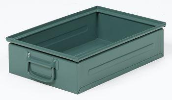 Stapel-Transportkästen Stahlblech, lackiert, 450x300x120 mm