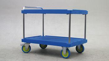 Tischwagen LxB 1300 x 820 mm 2 Etagen, Tragkraft 1000 kg