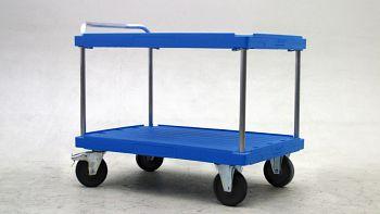 Tischwagen LxB 1300 x 820 mm 2 Etagen, Tragkraft 500 kg