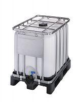 Container auf Kunststoffpalette 600l , Gefahrgutausführung