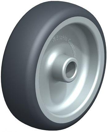 Räder mit thermoplatischem Gummilaufbelag 100x32mm