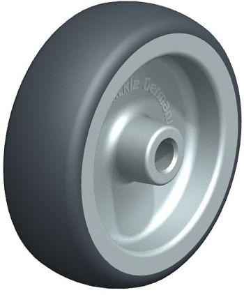 Räder mit thermoplatischem Gummilaufbelag 75x25mm