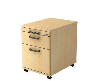 Roll-Container Serie H,  Dekor: Ahorn BxTxH: 428 x 580 x 590 mm