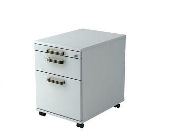 Roll-Container Serie H,  Dekor: Grau BxTxH: 428 x 580 x 590 mm
