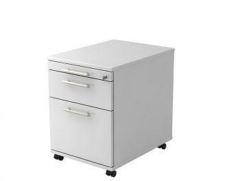 Roll-Container, Solid, Dekor: Weiß BxTxH: 428 x 580 x 590 mm