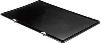 Verschlussdeckel in schwarz für Länge 600 mm