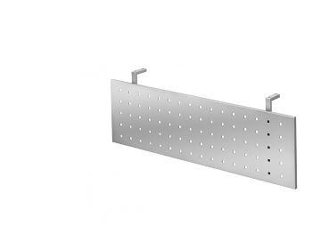 Sichtblende Silber zu Tisch 1200 x 800 mm