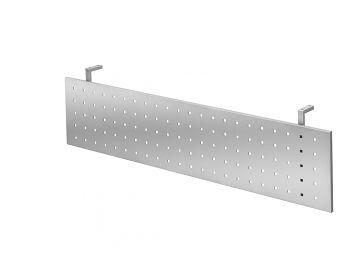 Sichtblende Silber zu Tisch 1600 x 800 mm