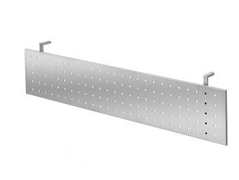 Sichtblende Silber zu Tisch 1800 x 800 mm