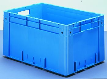 Schwerlast-Transportkasten LxBxH 600x400x320mm VE=2Stck.