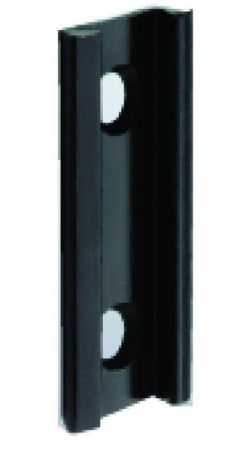 Schuhstecker schwarz (Wandbefestigung)