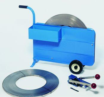Stahlband-Umreifungs-Set bestehend aus: