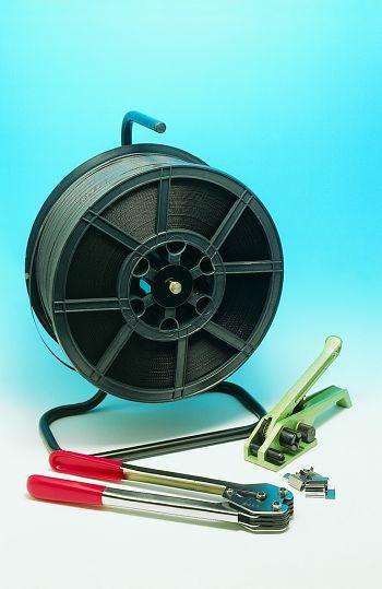 Kunststoffband-Umreifungs-Set bestehend aus: