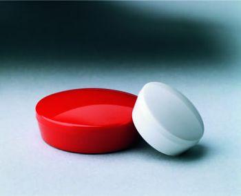 Magnete, weiß, 20 mm (VE = 10 Stück)
