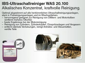 Ultraschallreiniger WAS 20.100 10 Liter Kanister